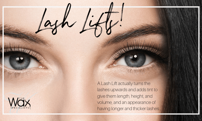Lash Lifts • The Wax Specialists